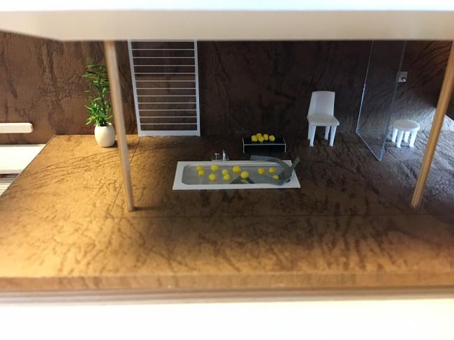 柚子風呂模型15