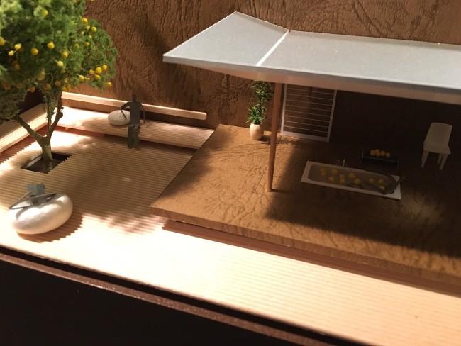 柚子風呂模型11