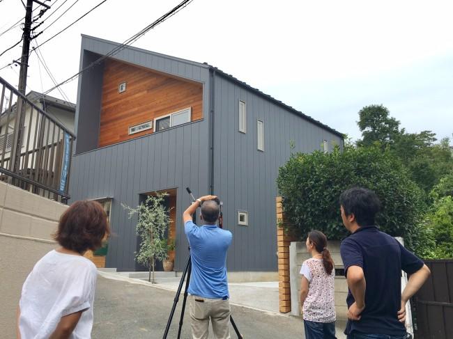 心地よい風と緑のある家撮影01